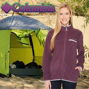 Columbia Women's Mountain Crest Full Zip Fleece